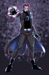 Jesse Hex - Sentinels by JamieFayX