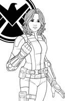 Daisy Johnson by JamieFayX