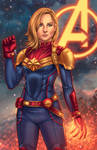 Captain Marvel - MCU by JamieFayX