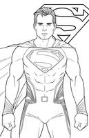 Superman - Henry Cavill by JamieFayX