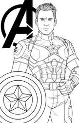Captain America - Chris Evans by JamieFayX
