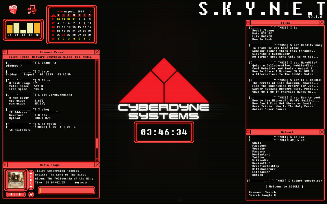 Skynet 1.0 by dpitkin on DeviantArt