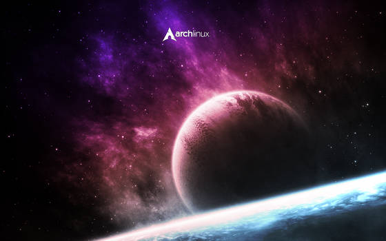 Arch Space Wallpaper