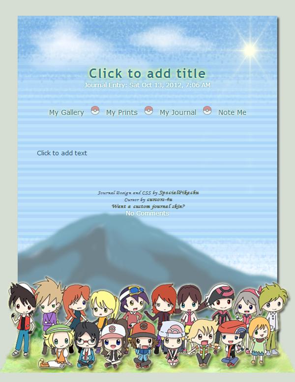 PoKeMoN Adventures by SpecialPikachu