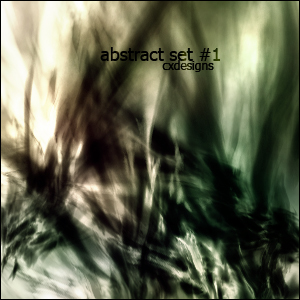 abstract set: 1 by Crixxy