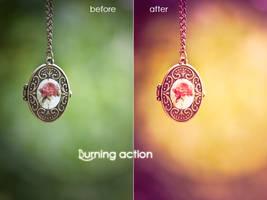 Burning action by nomatterwhy