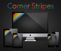 Corner Stripes by RobotBoyMedia