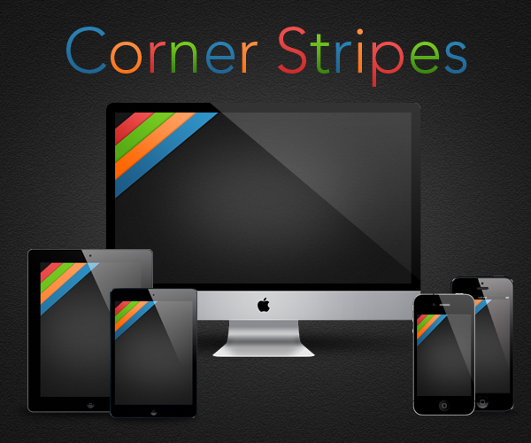 Corner Stripes by RobotBoyMedia
