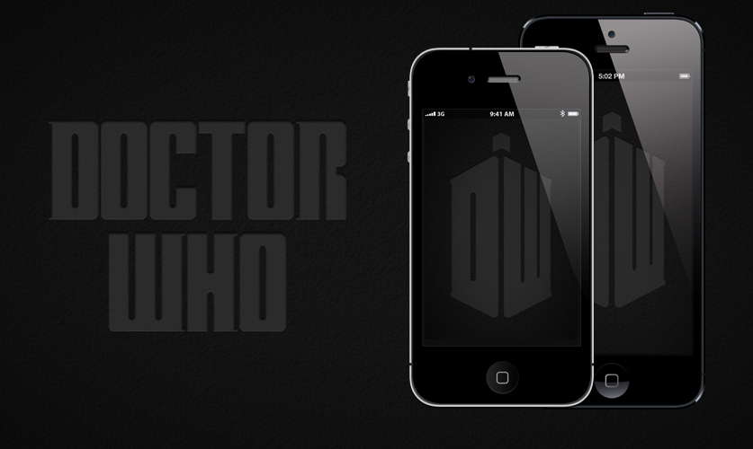 Doctor Who: Mobile Wallpaper by RobotBoyMedia