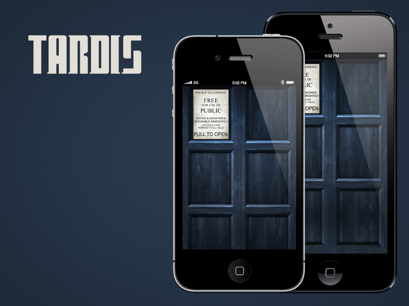 TARDIS (iPhone) by RobotBoyMedia
