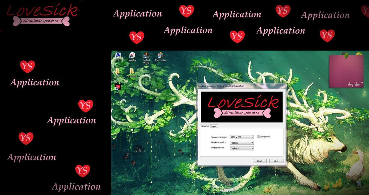 application yandere simulator by ooelizabethoo on deviantart. Black Bedroom Furniture Sets. Home Design Ideas