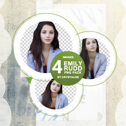 Emilly Rudd PNG Pack by Cry-stalize