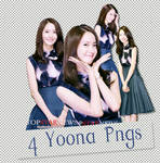 3 Yoona Pngs by SuSimSi