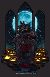 Double Werewolf - Animated