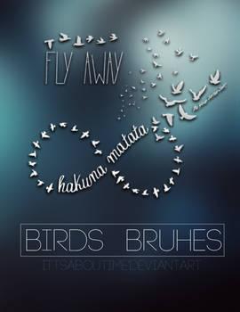 Birds Brushes.