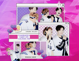EXO | BAEKHYUN Y CHANYEOL | PACK PNG by KoreanGallery