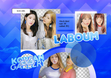LABOUM | PACK PNG 1 by KoreanGallery