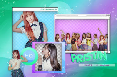 PRISTIN | PACK PNG by KoreanGallery