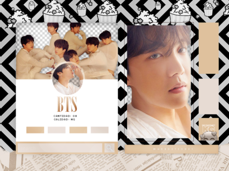 BTS | PACK PNG | LOVE YOURSELF TEAR by KoreanGallery