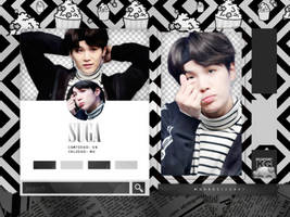 SUGA | BTS | PACK PNG by KoreanGallery