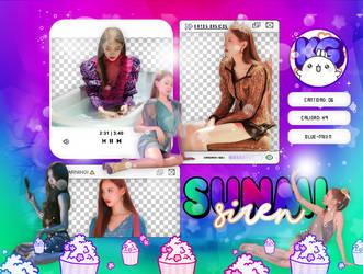 SUNMI | SIREN BEHIND THE SCENES | PACK PNG by KoreanGallery