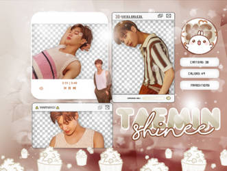 TAEMIN | SHINEE | PACK PNG by KoreanGallery