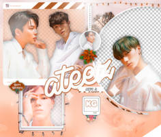 ATEEZ | TREASURE EP 1: ALL TO ZERO | PACK PNG by KoreanGallery