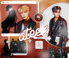ATEEZ   TREASURE EP 2: ALL TO ZERO   PACK PNG by KoreanGallery