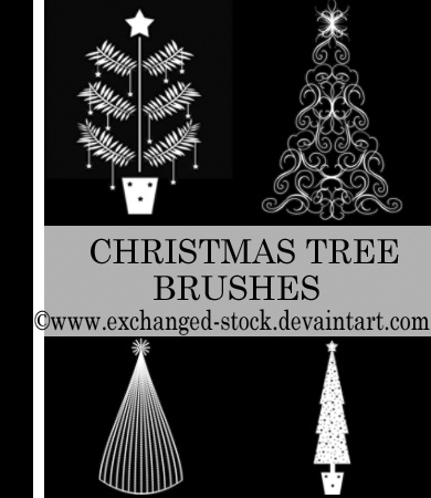 Christmas TwEeE Brushes
