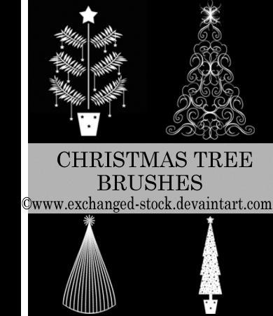 Christmas TwEeE Brushes by `exchanged-stock
