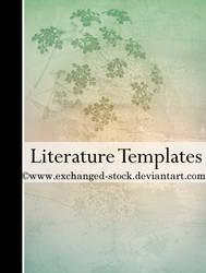 Floral Literature Templates