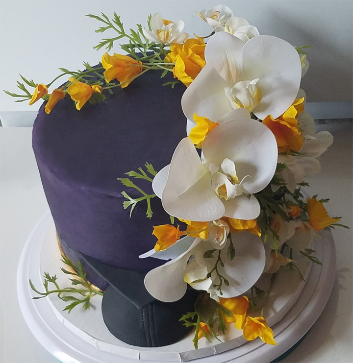 Graduation Cake: Master of Divinity from Fuller