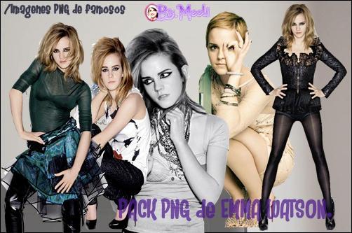 Pack PNG Emma Watson by LovebySelena