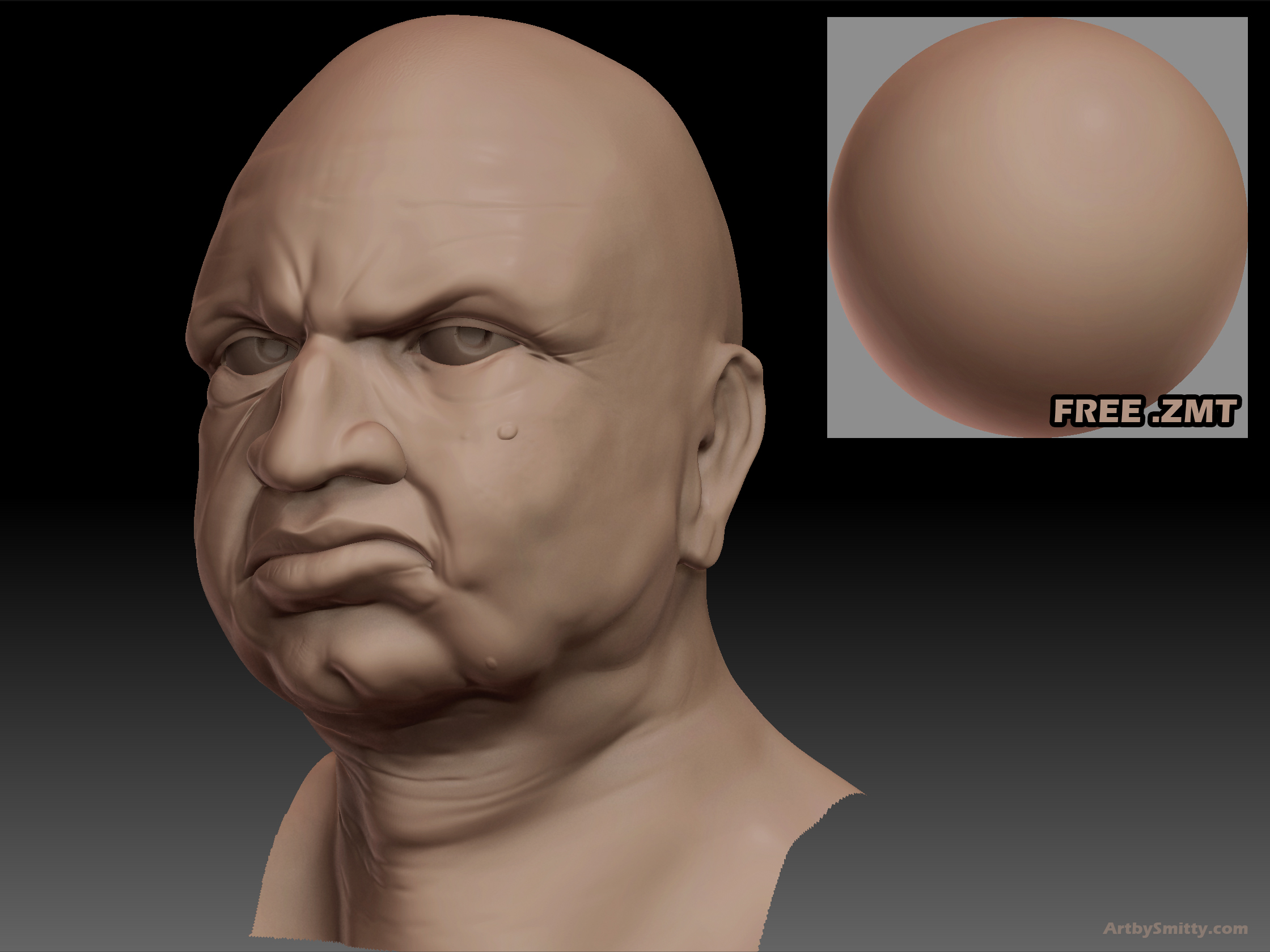 Free ZBrush Material - 02 by Art-by-Smitty on DeviantArt