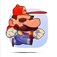 Run Mario by MaxGrecke
