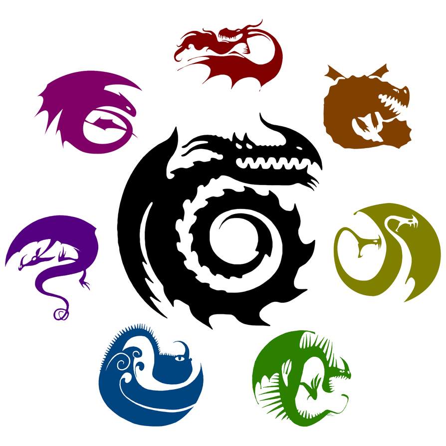 how to train your dragon symbols