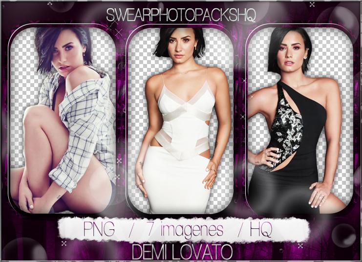 Pack PNG 242: Demi Lovato by SwearPhotopacksHQ