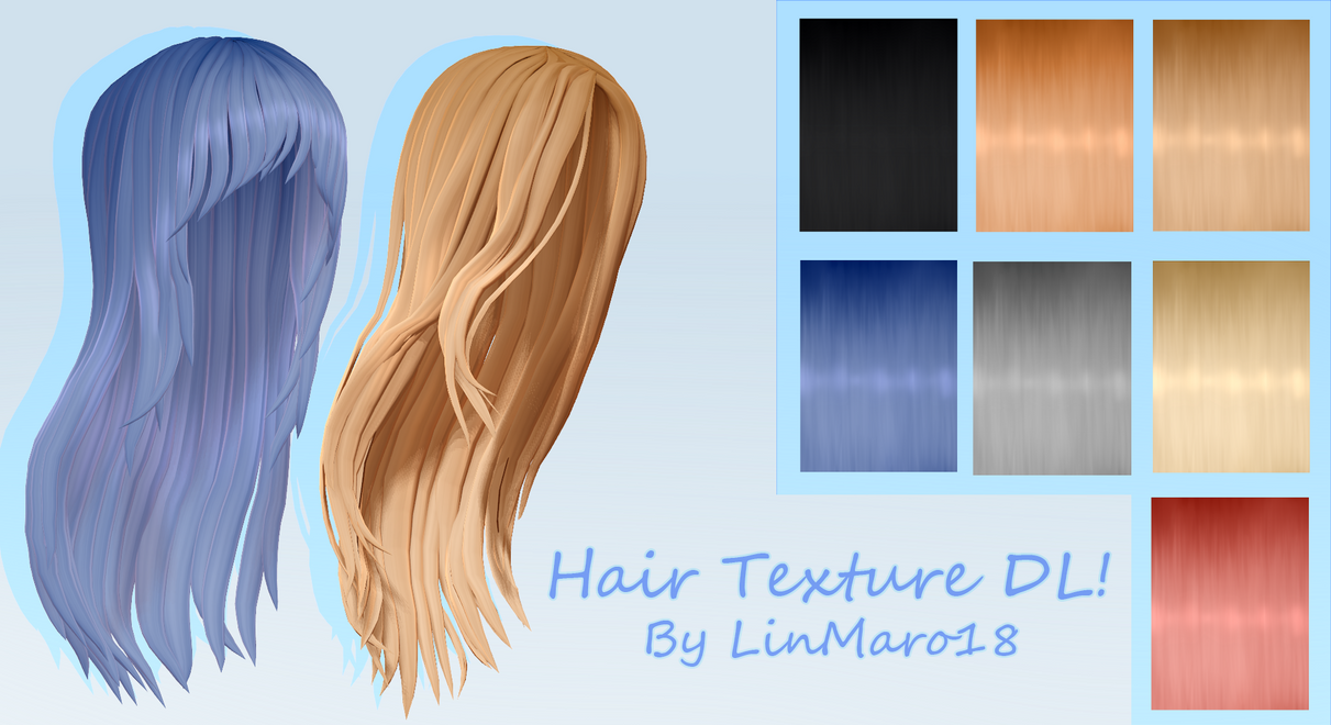 Mmd Dl Hair Texture Download By Linmaro18 On Deviantart