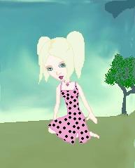 Dahlia Baby - A Kiss Doll by sputnik-sweetheart