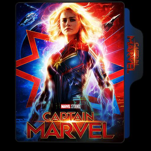 Captain Marvel 2019 Movie Folder Icon 1 By Vardhan30 On Deviantart