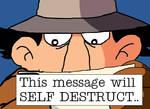 Inspector Gadget Self-Destruct