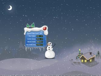Animated Christmas Snowflakes