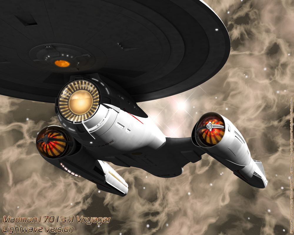Madman1701's JJ Voyager by karanua