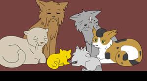 SSS Warrior Cats: Elder's Scene by Iron-Zing