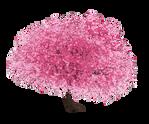 Sakura Pixel Tree