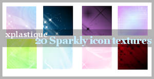 Sparkly icon texture set