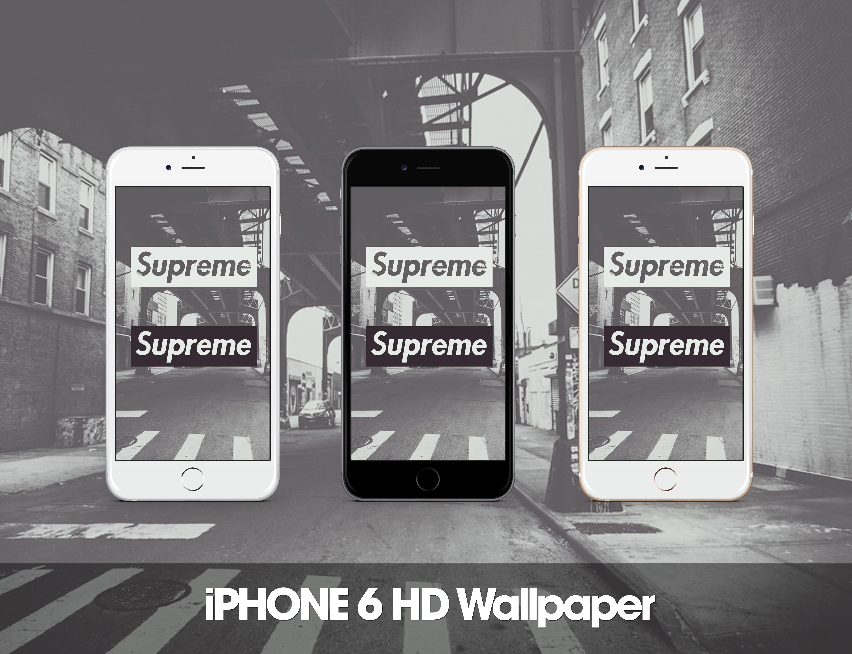 Supreme Iphone 6 Hd Wallpaper By Zepyri On Deviantart