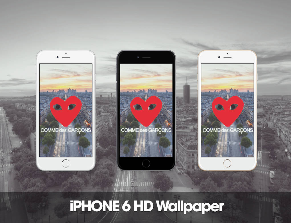Comme Des Garcons Iphone 6 Hd Wallpaper By Zepyri On Deviantart