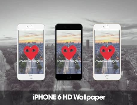 Comme des Garcons iPhone 6 HD Wallpaper