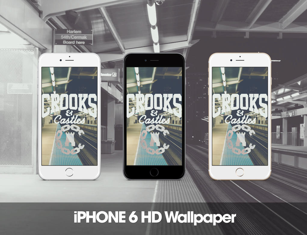 Crooks and Castles iPhone 6 HD Wallpaper by Zepyri on DeviantArt